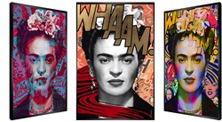 Free Frida by Patrick Rubinstein - Kinetic sized 19x28 inches. Available from Whitewall Galleries